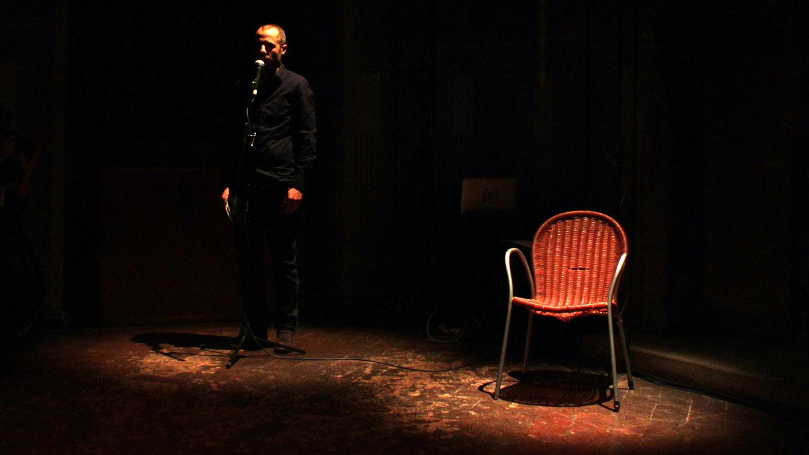 Armando Iovino, Isola Teatro - foto di Benedetta Pratelli