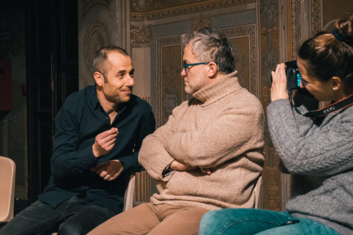 Armando Iovino, Isola Teatro - foto di Antonio Ficai