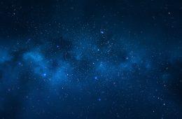 Night sky – Universe filled with stars, nebula and galaxy