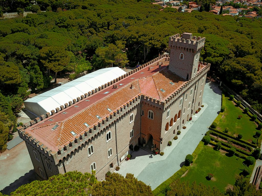 Castello Pasquini di Castiglioncello – foto di Antonio Ficai
