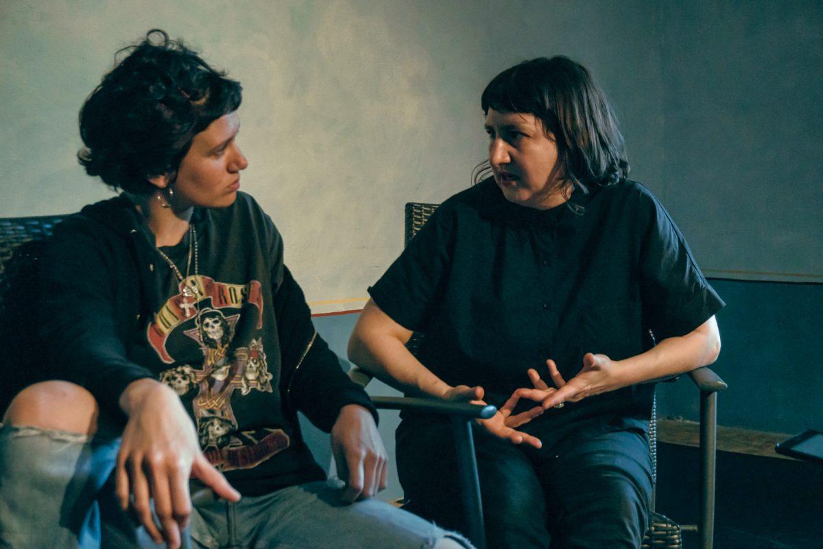 Greta Francolini e Silvia Gribaudi - foto di Antonio Ficai