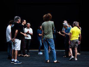 Giuliano Scabia - Armunia Inequilibrio 22 - Foto di Daniele Laorenza