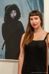 Virginie Bujold-Paré - Mostra Robert Lepage - Inequilibrio 22 - foto di Antonio Ficai
