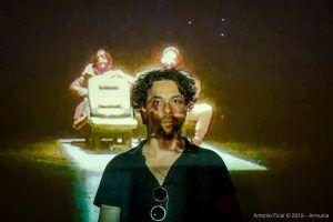 Lino Strangis - Mostra Robert Lepage - Inequilibrio 22 - foto di Antonio Ficai