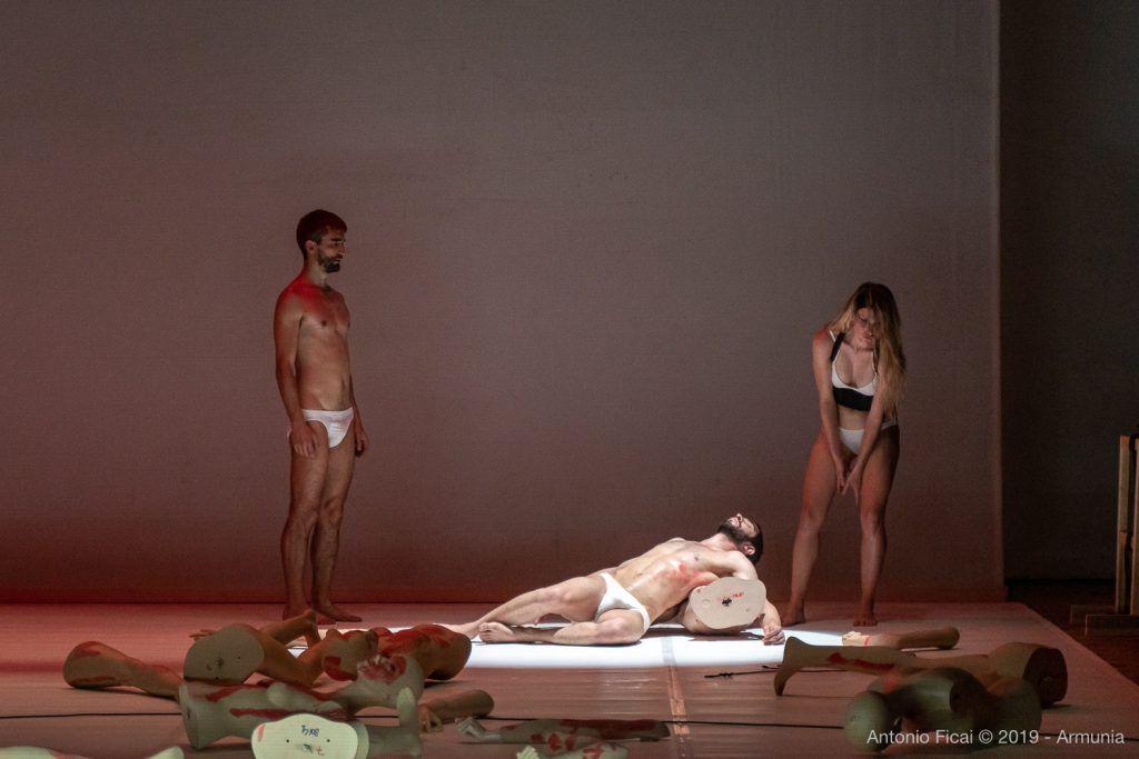 Enzo Cosimi - Inequilibrio 22 - foto di Antonio Ficai