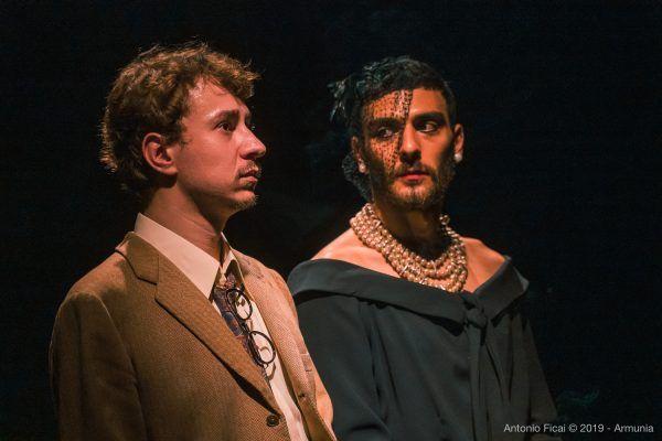 Eugenio Mastrandrea e Riccardo Ricobello – Inequilibrio 22 – foto di Antonio Ficai