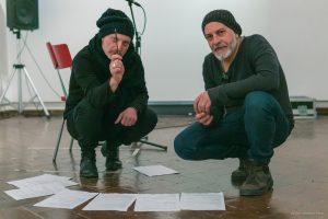 Roberto Latini - Fortebraccio Teatro - foto di Antonio Ficai