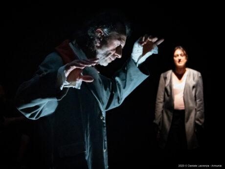 Silvia Garbuggino e Gaetano Ventriglia – Armunia – Foto di Daniele Laorenza